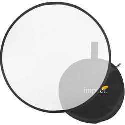 """Impact Collapsible Circular Reflector Disc - White Translucent - 12"""""""