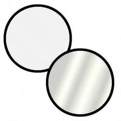 Impact Collapsible Circular Reflector Disc - Silver/White - 22""