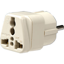 Travel Smart by Conair NWG1C Adapter Plug - 3-Prong Grounded USA Devices in Europe