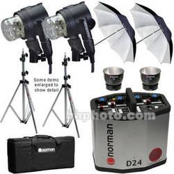 Norman 2400 Watt/Second 2 Light Kit