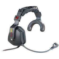 Eartec Single Earmuff Headset with Noise Canceling Mic