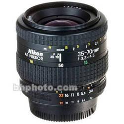 Nikon Zoom Wide Angle-Telephoto 35-70mm f/3.3-4.5 AF Autofocus Lens
