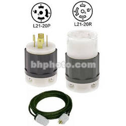 Altman Extension Cable - Twist-Lock - 10' - 20 Amps