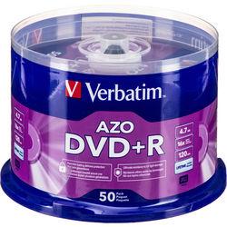 Verbatim DVD+R 4.7GB 16x Disc (50)