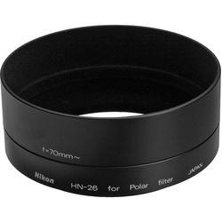 Nikon HN-26 Hood for the ORIGINAL Nikon 62mm Circular Polarizing Filter