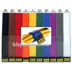 "Rip-Tie CableWrap 1 x 21"" (10 Pack) (Rainbow)"