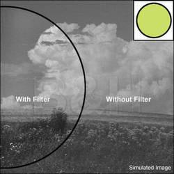 Nikon 52mm Light Green X0 Glass Filter for Black & White Film