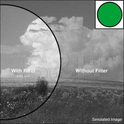 Nikon 52mm Dark Green X1 Glass Filter for Black & White Film