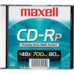 Maxell CD-R 700MB Silver Inkjet Disc