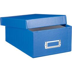 Print File Archival Photo Box (Blue)