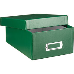 "Print File Archival Photo Box - 7.5 x 4.5 x 11.25"" - Green"