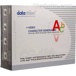 Datavideo CG-100 Character Generator Software