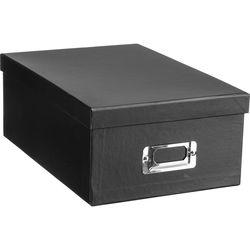 Pioneer Photo Albums B1-BLK Deluxe Photo Storage Box (Black)
