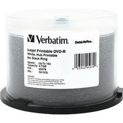Verbatim DVD-R 4.7GB 16X Printable DataLifePlus (50)