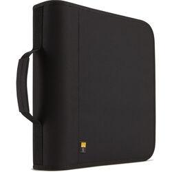 Case Logic CDW-208 208 Capacity CD Wallet (Black)