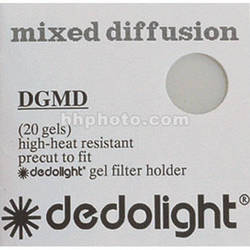 Dedolight Diffusion Gel Filter Set for DFH400 Filter Holder