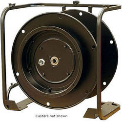 Whirlwind WD7C - Stackable Cable Reel w/ Connector Panel and Locking Casters