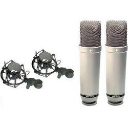 Rode NT1-A Large Diaphragm Condenser Microphone (Matched Pair)