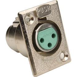 Switchcraft D3F Female 3-Pin XLR Connector