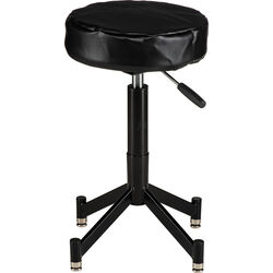 Photogenic Steel Posing Stool with 4 Leg Tubular Base, Cushion