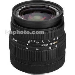 Sigma Zoom W/A-Telephoto 28-70mm f/2.8-4 Compact High Speed Zoom AF Lens