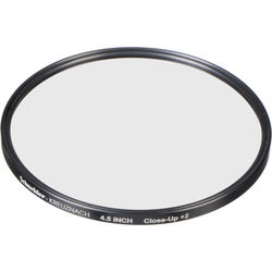 "Schneider 4.5"" Water White +2 Full Field  Diopter Lens (Close-up Filter)"