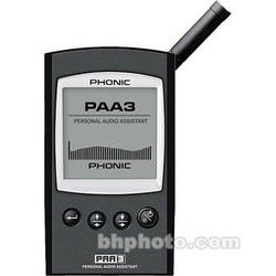 Phonic PAA3 - Handheld Audio Analyzer