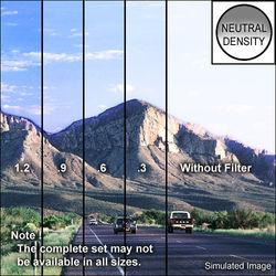 "Schneider 4 x 5.65"" MPTV Graduated Neutral Density 0.6 Filter (Hard Edge, Horizontal Orientation)"