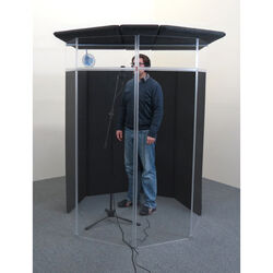 ClearSonic IsoPac F Vocal Booth (Dark Grey)