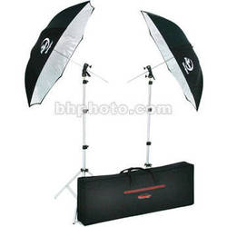 Photogenic Two Umbrellas and Two Stands Kit