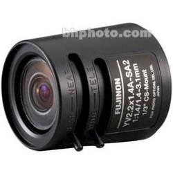 Fujinon YV2.2x1.4A-SA2 1.4-3.1mm Fish-Eye Varifocal Lens (Long Cable)