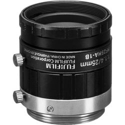 "Fujinon C Mount 25mm f/1.4 2/3"" Fixed Focal Machine Vision Lens"
