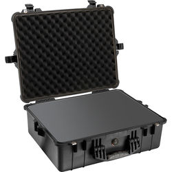 Pelican 1600 Case with Foam Set (Black)