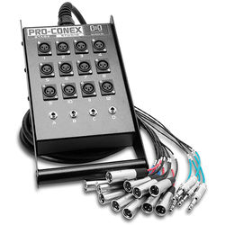 Hosa Technology SH12X425 SH Series Stage Box Snake