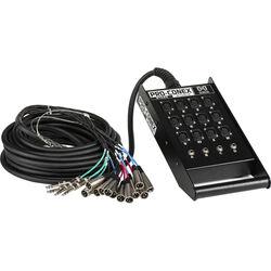 Hosa Technology SH12X4100 SH Series Stage Box Snake