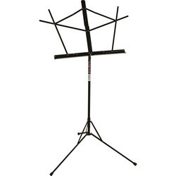 On-Stage SM7122BB Compact Sheet Music Stand (Black, with Bag)
