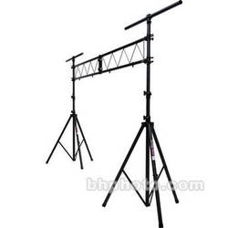 On-Stage Lighting Stand with 10'  Truss - Black