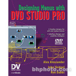 CMP Books Book and DVD-Rom: Designing Menus with DVD Studio Pro