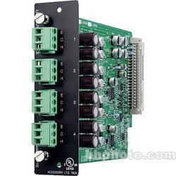 Toa Electronics D-971E - 4 x Balanced Line Output Module (Phoenix)