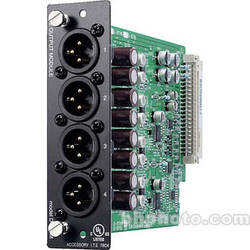 Toa Electronics D-971M - 4 x Balanced Line Output Module (XLR-M)