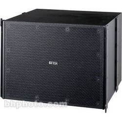Toa Electronics SRA18B Mid-Sized 720W Subwoofer Module (Black)