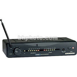 Samson SR5 Wireless VHF Receiver for Samson Stage 5 Wireless System (Channel 10 / 202.2MHz)