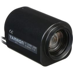 "Tamron 13PZG10X6C 1/3"" 6-60mm F/1.4 CS-Mount Compact Zoom Lens"