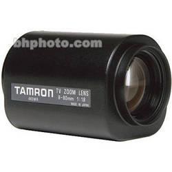 "Tamron 12PZG10X8C 1/2"" 8-80mm F/1.8 Compact Motorized C-Mount Lens"