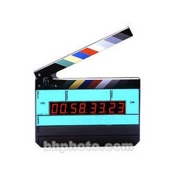 Denecke TS-3 Time Code Slate - Black and White Clapper, EL Backlit