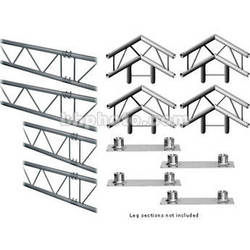 Milos M222 Duo QuickTruss Floor Kit - 7.5 x 10.8'