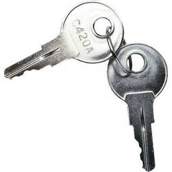 Middle Atlantic Replacement Keys for Universal Front Doors