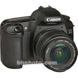 Canon EOS 30D Digital Camera with Canon EF-S 18-55mm Lens
