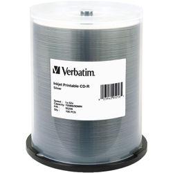 Verbatim CD-R Silver Inkjet Disc (100)