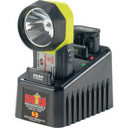 Pelican Big Ed Lite Rechargeable  w/ 12V Trickle  Hard Wired Charger  Xenon and  Krypton